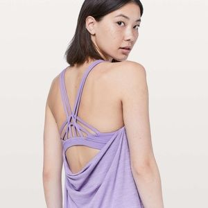 Lululemon Movement to Movement 2 in 1 Tank